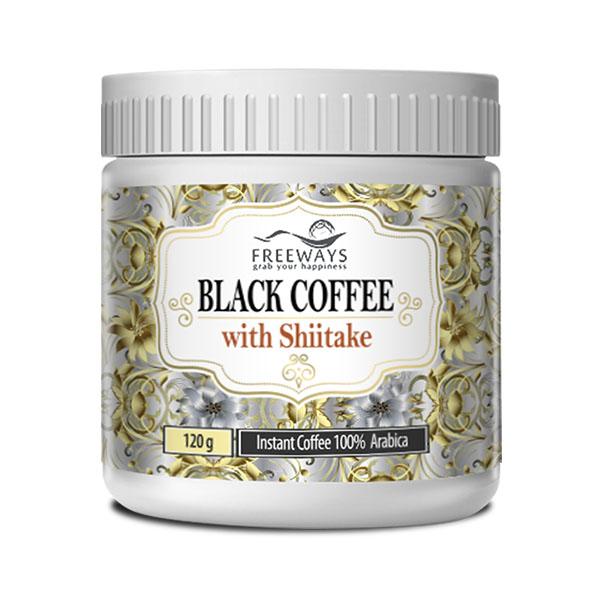 BLACK COFFEE with Shiitake (120g)