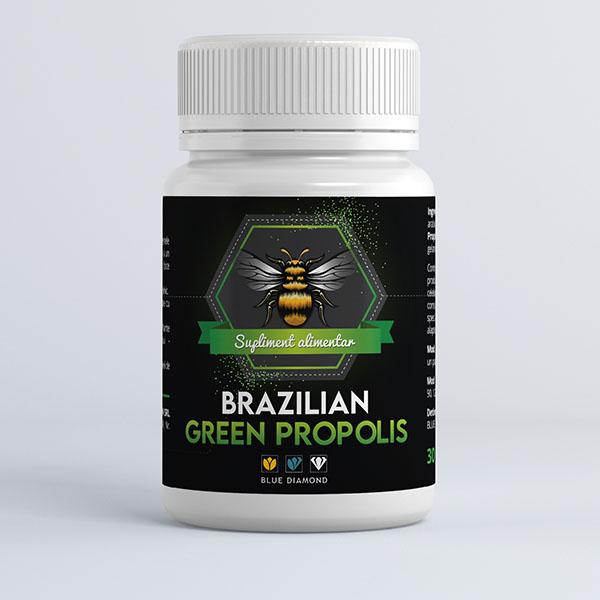 Propolis Verde Brazilian - 30cps