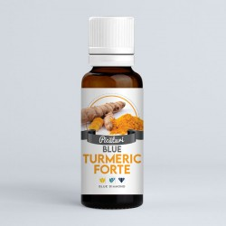 Blue Turmeric Forte Picături - 30ml