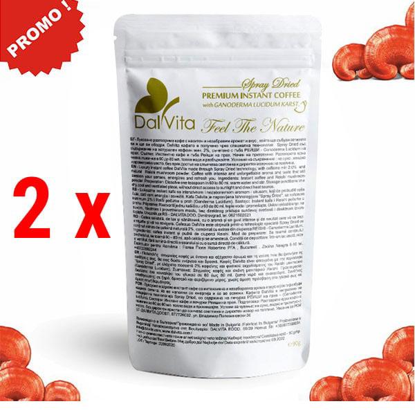 PROMO 2 X DalVita cafea cu ganoderma 12%