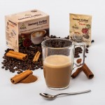Ayura coffee cu Ganoderma, Scortisoara si Stevia
