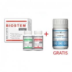 PROMO - Biostem Bio-Forte 2 x 60 cps + Protect Zeolit Forte 90cps