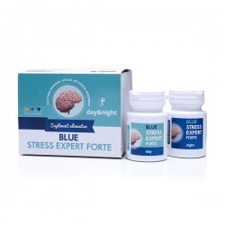 BLUE STRESS EXPERT FORTE 24 Day&Night - supliment antistress 100% natural