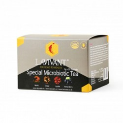 Ceai Microbiotic cu Ganoderma - 20 plicuri - LAVIVANT