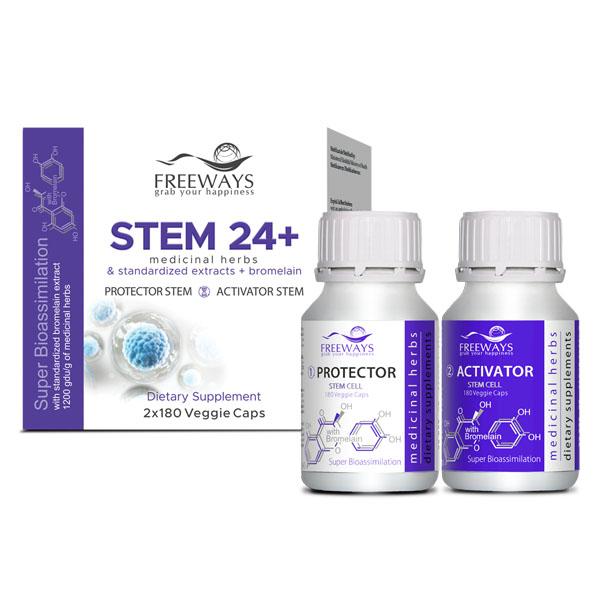 STEM 24+ (2 x 180 cps veg)