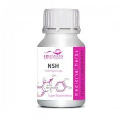 NSH - nails, skin, hair cu Bromelaina (180 cps veg)